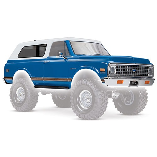 하비몬[#AX9111X] TRX-4 Chevrolet Blazer 1972 Complete Body (Blue) w/Decals[상품코드]TRAXXAS