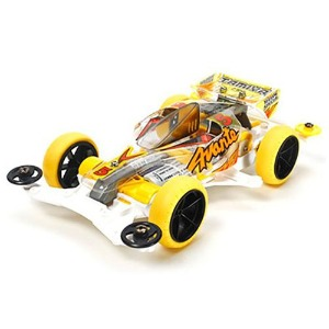 하비몬[#TA95060] [MINI 4WD] 1/32 Avante Jr. Yellow Special Clear Body (VS)[상품코드]TAMIYA