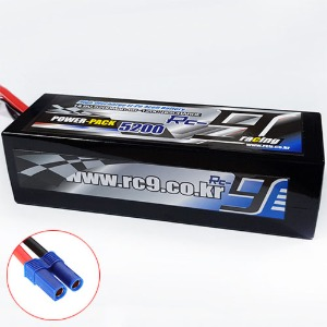 하비몬14.8V 5200mAh 60-120C 4S Hard Case Lipo Battery (EC5잭) - Slim Type[상품코드]RC9