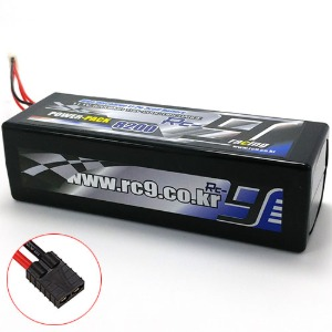하비몬11.1V 8200mAh 100-200C 3S Hard Case Lipo Battery (TRX잭)[상품코드]RC9