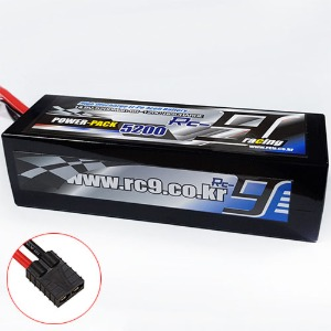 하비몬14.8V 5200mAh 60-120C 4S Hard Case Lipo Battery (TRX잭) - Slim Type[상품코드]RC9