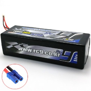 하비몬11.1V 8200mAh 100-200C 3S Hard Case Lipo Battery (EC5잭)[상품코드]RC9