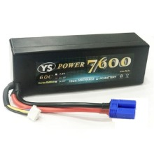 하비몬[#7600-3S-60C-EC5] 11.1V 7600mAh 60C~120C Hard Case Lipo Battery (EC5잭)[상품코드]YS POWER